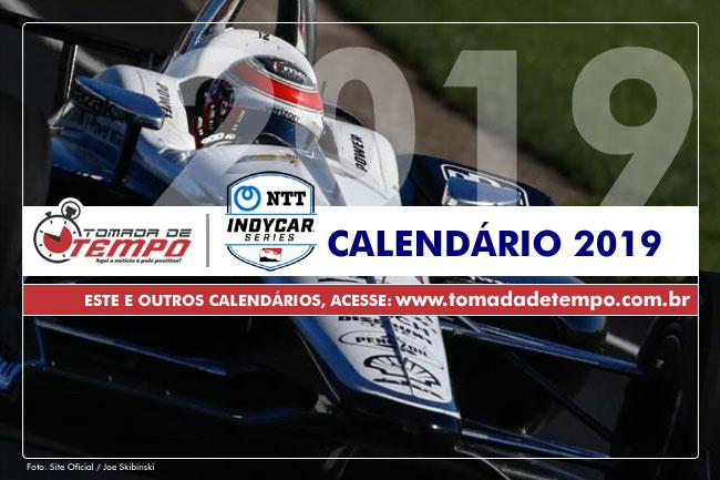 Calendario Formula Indy 2019.Formula Indy Calendario 2019 Tomada De Tempo
