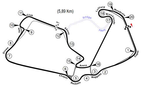 "Imagem: ""Silverstone circuit"" por Gustavo Girardelli"
