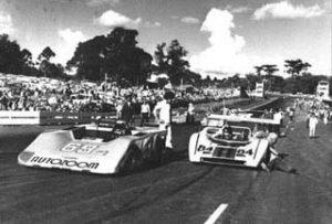 Inauguração do autódromo 22 de abril de 1973. Foto: Divulgação/Facebook.