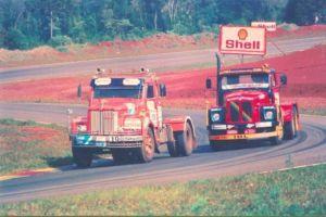 6 de Setembro de 1987 a 1ª Copa Brasil de Caminhões, futura Formula Truck. Foto: L. Monteiro.