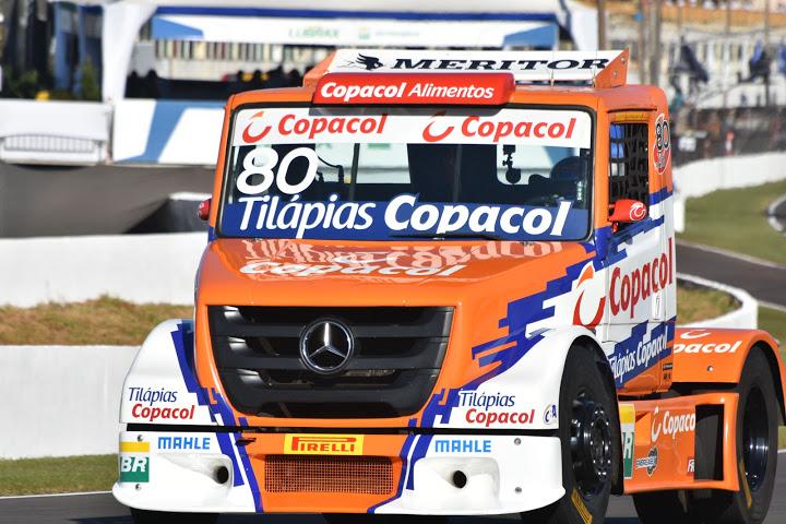 Paranaense Diogo Pachenki na pista de Londrina PR. - Foto: Luciana Flores