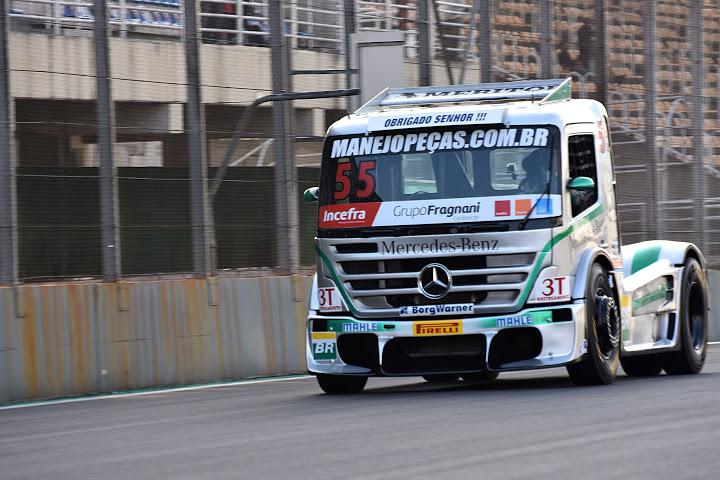 Salu levou a vitória em Interlagos nesse final de semana em São Paulo. - Foto: Luciana Flores.