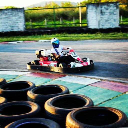 Equipe do Tortuga Racing na pista. - Foto: Tiago Lima.