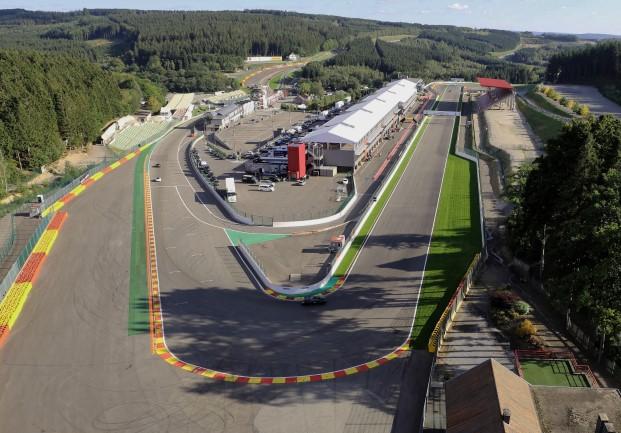 Circuito de Spa-Francorchamps - Fonte: Site oficial do circuito
