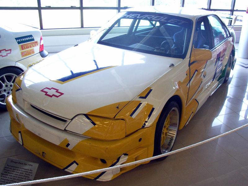 Chevrolet Omega usado em 1994 na Stock Car.