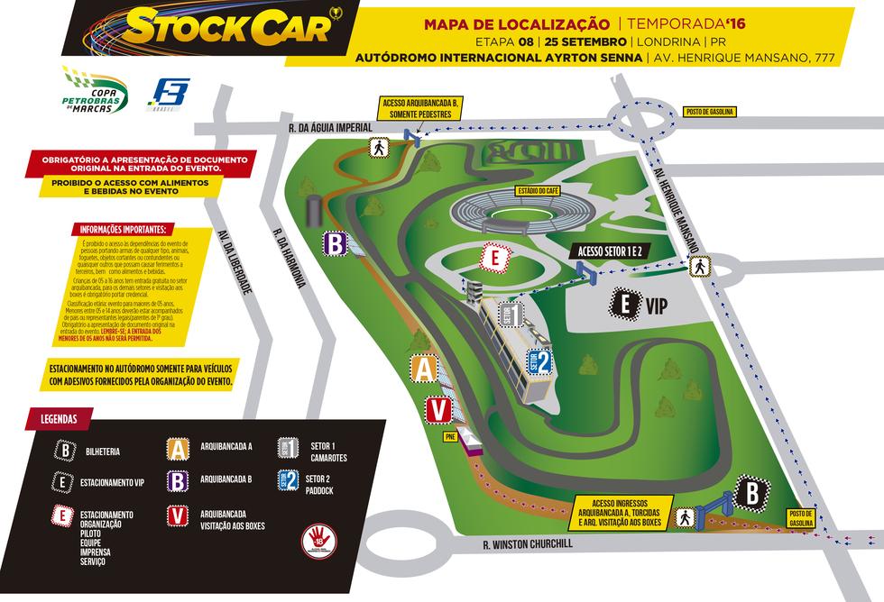 Mapa localização etapa 8 - Londrina