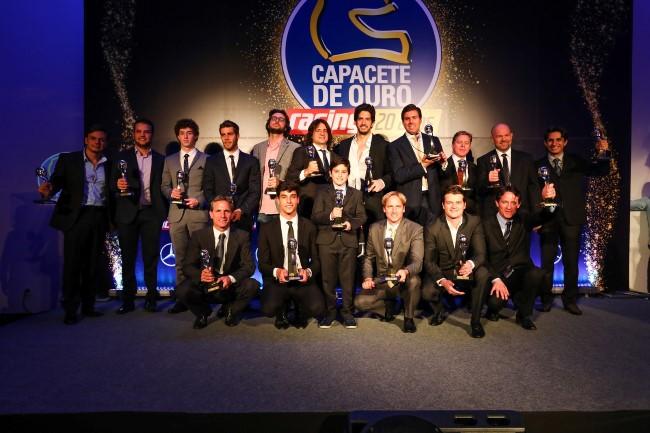 Vencedores do Capacete de Ouro 2016 (Foto: Rafael Munhoz/Motorpress)