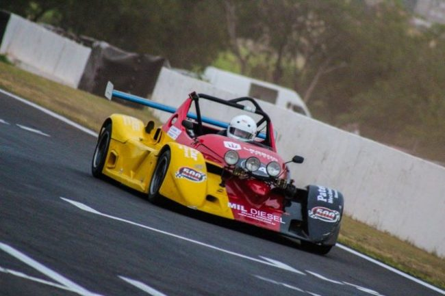 Vander disputando as 500 Milhas de Londrina. - Foto: Cintia Azevedo.