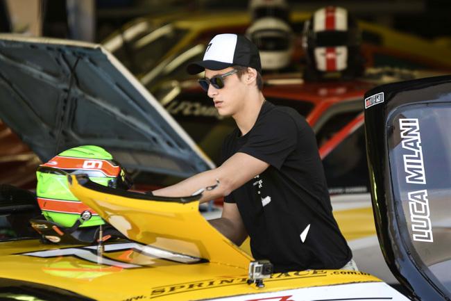 Luca Milani é o pole position da categoria PRO - Foto: Fernando JS.