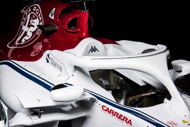 Carro da Alfa Romeo Sauber - C37 - 2018. Foto: Site Oficial Sauber