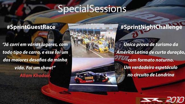 Sobre as provas especiais da Sprint Race - Imagem: Facebook Oficial Sprint Race Brasil