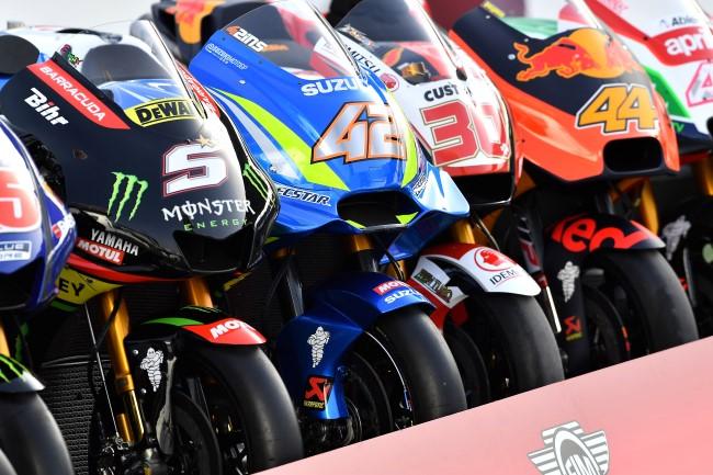 Máquinas / Motos - GP Qatar 2018 - Foto: Michelin