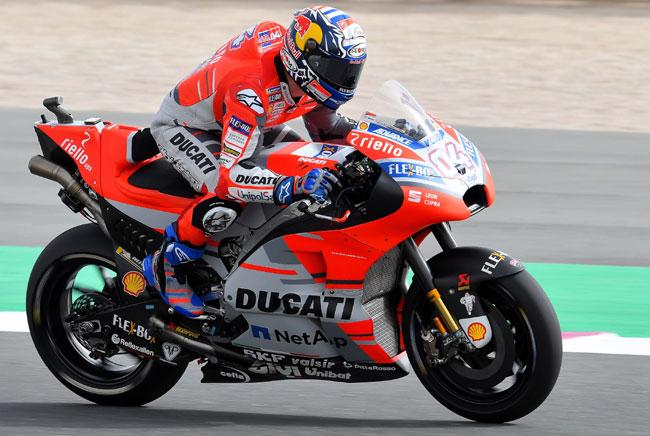 Andrea DOVIZIOSO ITA - Vencedor - Qatar 2018 - Moto GP - Foto: Michelin