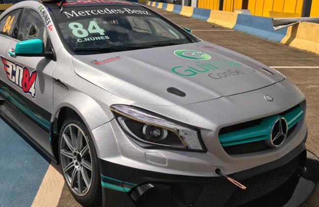 Carro #84 Cello Nunes - Mercedes-Benz Challenge - Foto: Divulgação Equipe