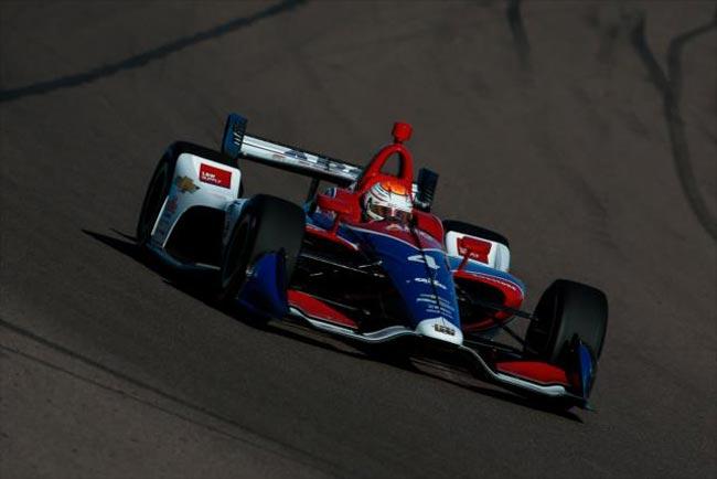 Matheus Leist nos treinos pré-temporada Indy 2018 - Foto: Joe Skibinski / Site Oficial IndyCar