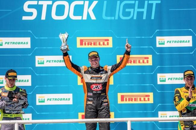 Gabriel Robe vence a Corrida 1 da Stock Light - Foto: Jorge Tadeu / Facebook Gabriel Robe