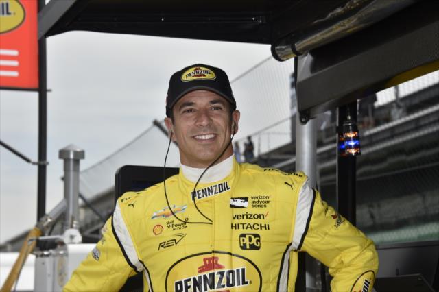 Castroneves arriscou tudo pela pole, mas larga em 8º - INDY500 - 2018 - Foto: Indycar.com