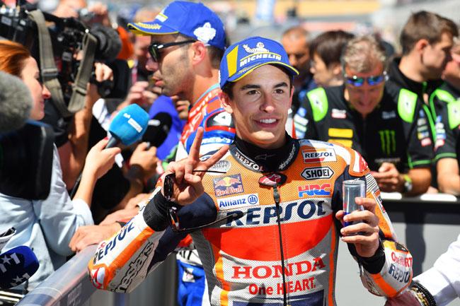 Marc Marquez vence GP da França - 2018 - MotoGP - Foto: Michelin