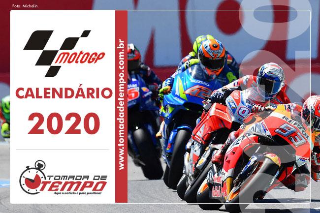 Moto Gp Calendario 2020 Tomada De Tempo