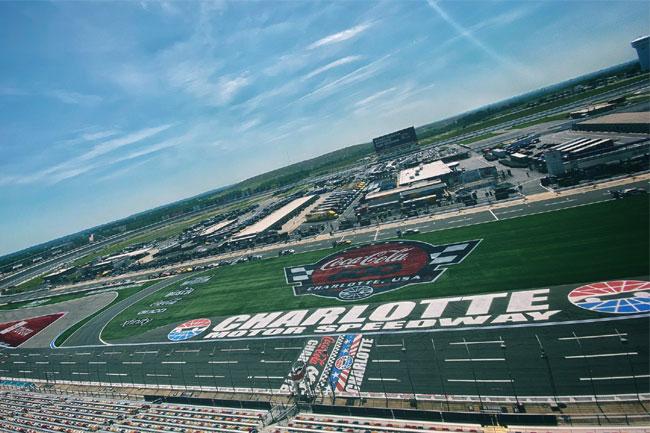 Foto: Charlotte Motor Speedway Twitter