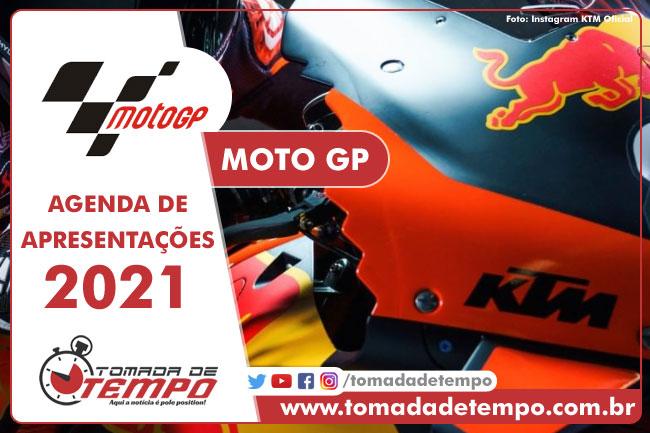 Agenda - Motos - MOTO GP - 2021