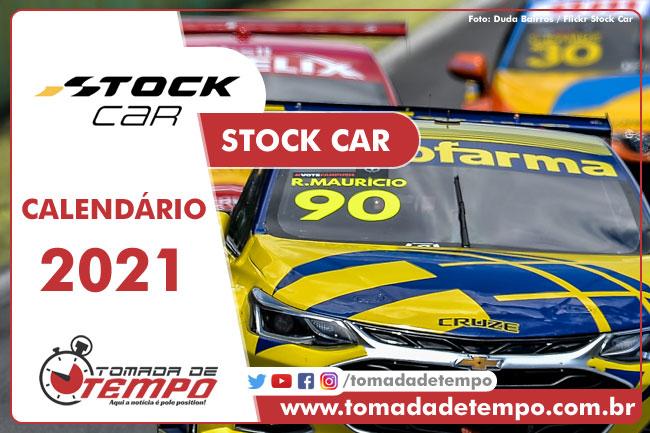 Calendário Stock Car 2021 - Tomada de Tempo