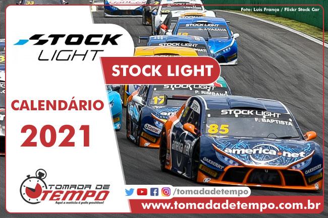 Calendário Stock Light 2021 - Tomada de Tempo