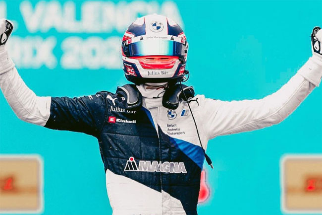 Fórmula E - Jake Dennis vence Corrida 2 em Valência! Foto: Jake Dennis Instagram