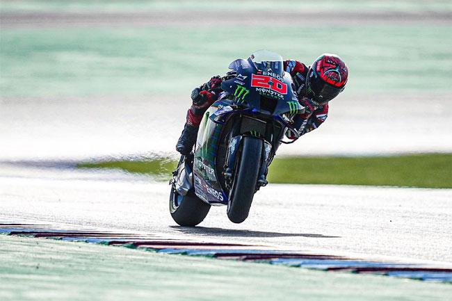 Foto: Twitter Quartararo - Vencedor GP de DOHA (Qatar) - MOTO GP 2021