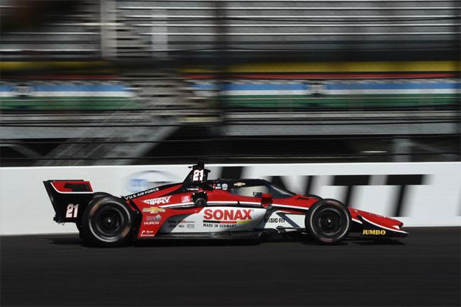 Rinus Veekay - Vencedor do GP de Indianápolis (Misto) - Fórmula Indy 2021 - Foto: Chris Owens