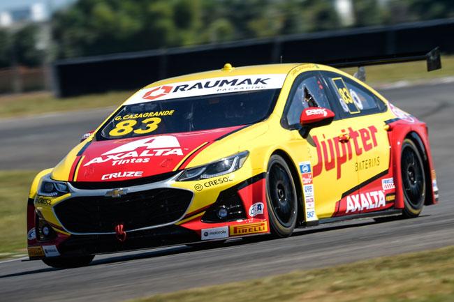 Gabriel Casagrande é o pole position na segunda etapa da Stock Car - Foto: Duda Bairros