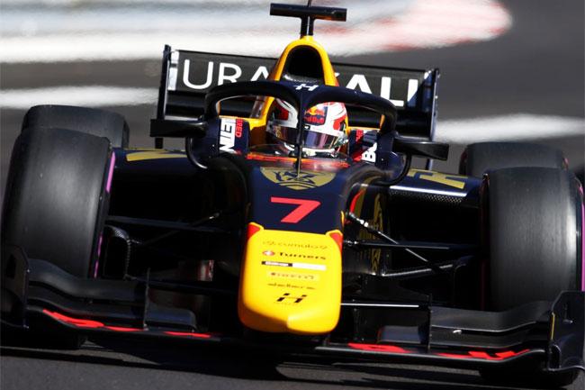Liam Lawson - Pole Position Fórmula 2 - Baku - 2021 | Foto: Site Oficial Liam Lawson
