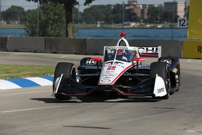 Newgarden - Pole position para a corrida 2 - Detroit - Indy 2021 | Foto: Matt Fraver