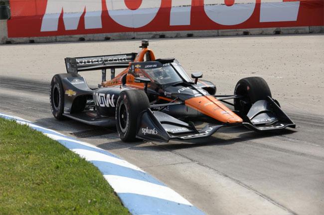 Pato O'Ward - Vencedor da corrida 2 - Detroit   Foto: Matt Fraver