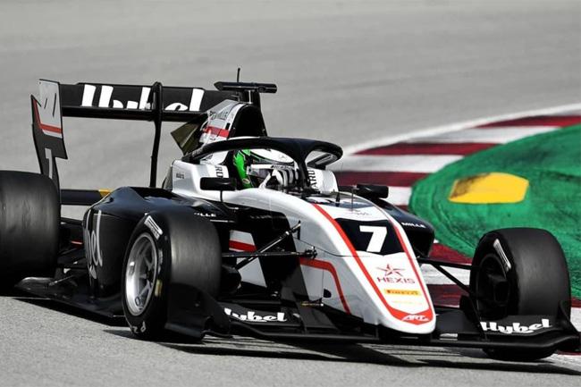 Vesti foi o mais rápido no treino classificatório da F3 na França - Foto: artgp_official Instagram