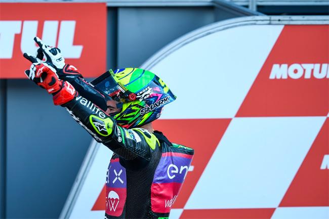 Eric Granado venceu o GP da Holanda e MOTO E 2021 - Foto: Jesus Robledo