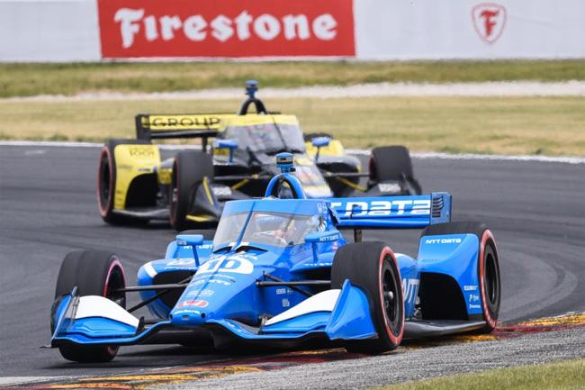 Alex Palou venceu a etapa de Road America da Fórmula Indy 2021 - Foto: James Black