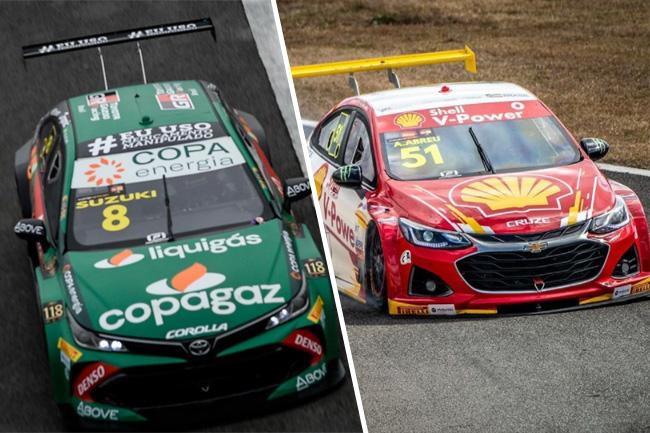 Suzuki e Átila venceram as corridas da STOCK CAR na 7ª etapa em Curitiba | Fotos: Respectivos Instagram Oficiais
