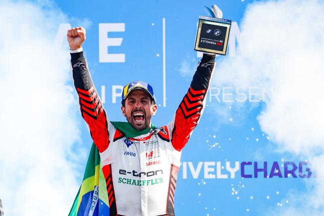 Venceu e muito bem, Lucas Di Grassi! Fotos: Audi Sport