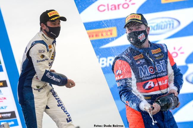 Barrichello e Ricardo Maurício dominam Goiânia/GO - Stock Car 2021 - Fotos: Duda Bairros