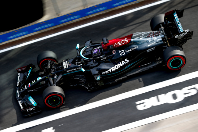 Lewis Hamilton liderou o TL2 em Istambul - F1 | Foto: Mercedes AMG F1